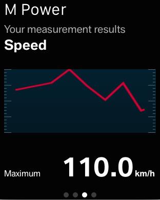 BMW M Power Meter iPhone Screenshot 5