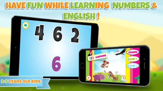 Learning numbers for toddlers - Kindergarten and preschool educational kids games