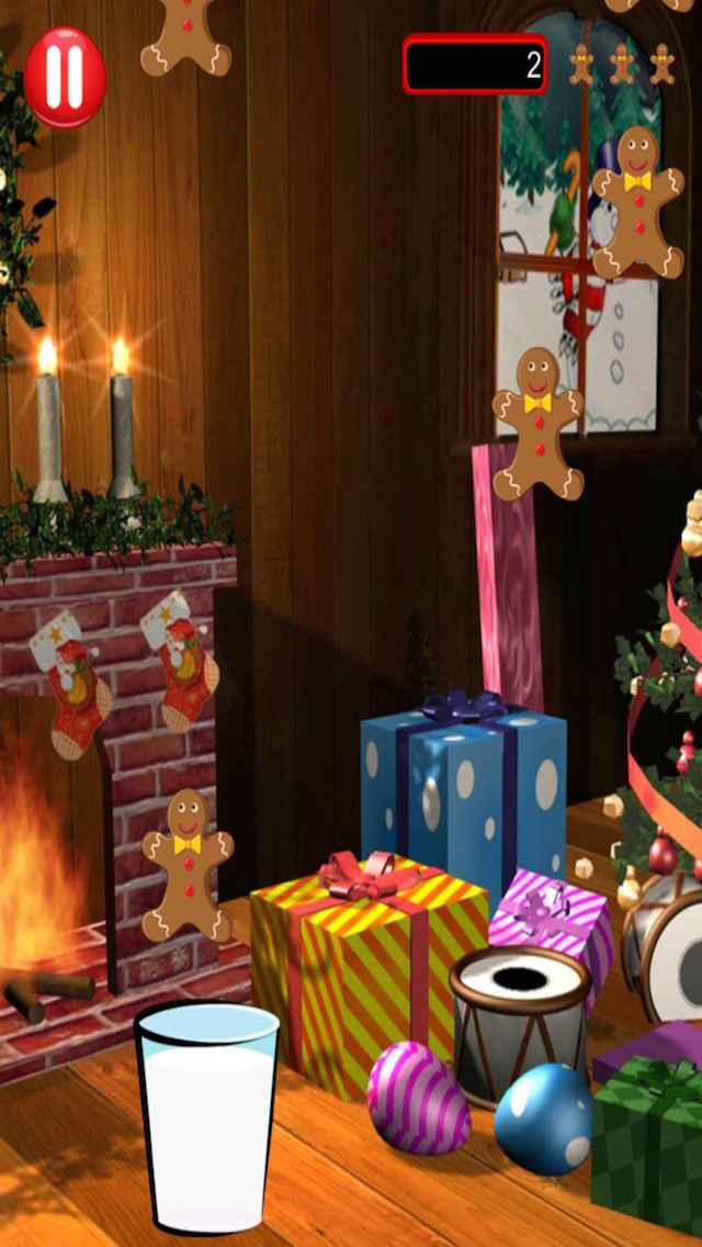 Holiday Gingerbread Man Milk Dunk - Fun Cookie Catching Rush FREE
