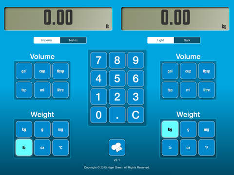 CookCalc iPad Screenshot 3