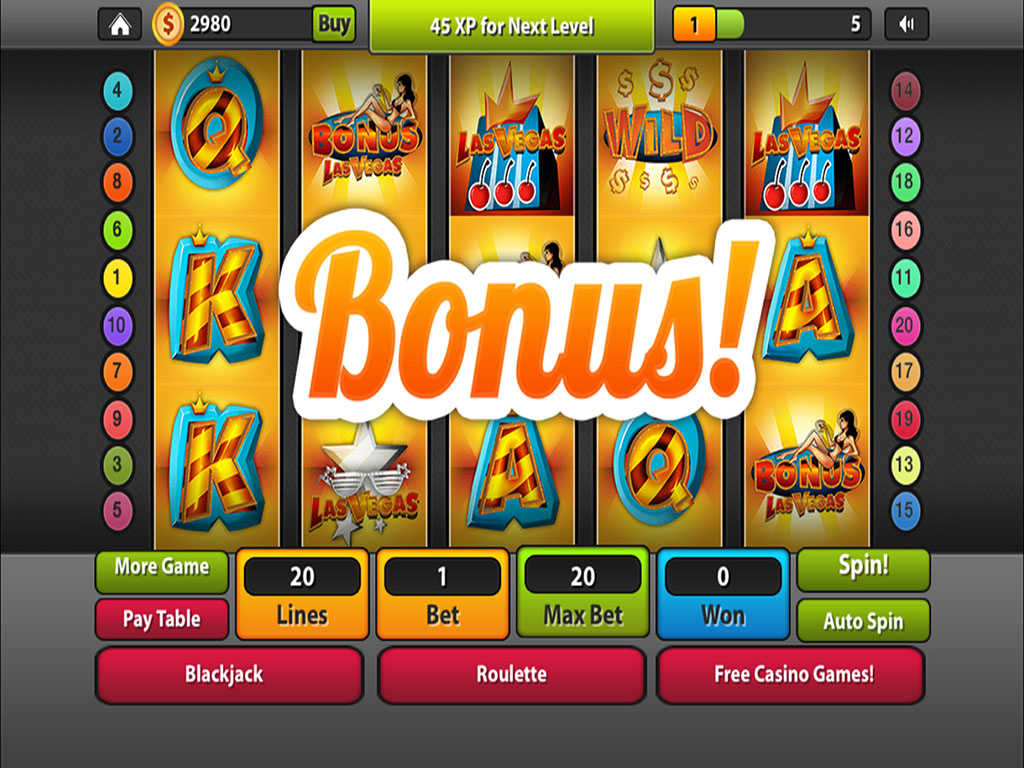 vegas world casino free games slots machines
