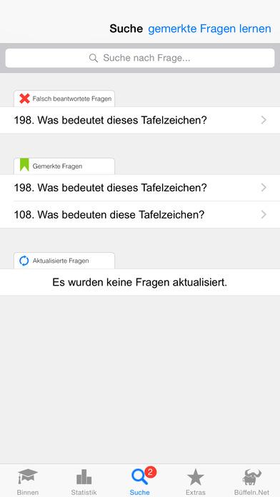 Sportbootführerschein-Binnen iPhone Screenshot 3