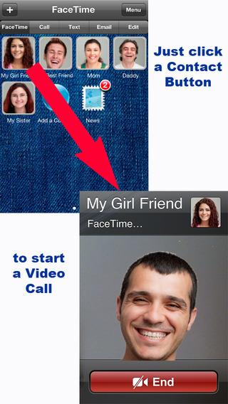 FaceDial for FaceTime