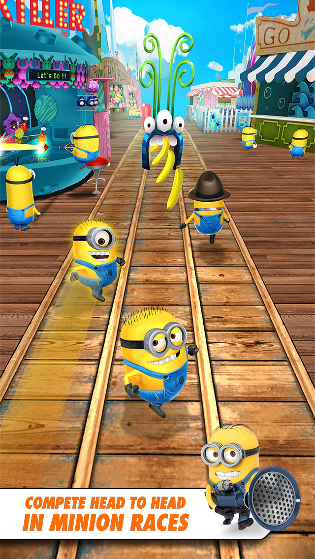 Despicable Me: Minion Rush screenshot 1