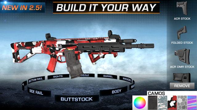 Gun Builder ELITE - Modern Weapons Sniper Assault Rifles