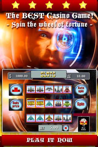 AAA Aaron Space Shuttle Slots screenshot 1