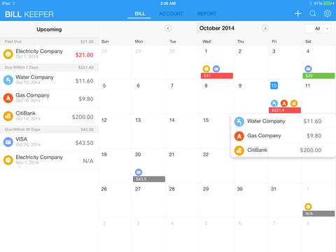 The Best Ipad Apps For Tracking Bills  Apppicker