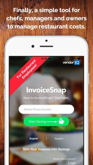InvoiceSnap Chef - Restaurant Food Invoice Analysis