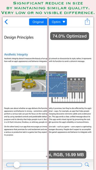 PDFOptim Lite for iOS