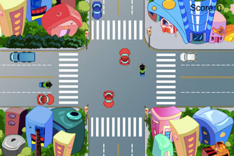 Car Traffic Control - A Cross Road Challenge screenshot 1