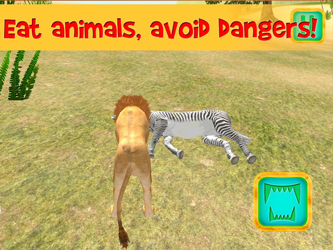 Safari Wildlife: Lion Simulator 3D Full Screenshots