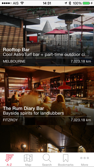 DRINK. Melbourne - Melbourne bar guide iPhone Screenshot 3