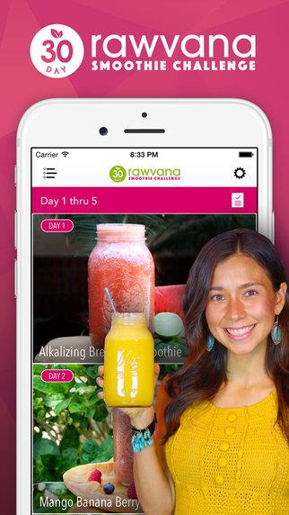 Rawvana's 30 Day Smoothie Challenge