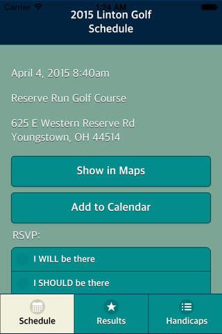 Linton Golf screenshot 2