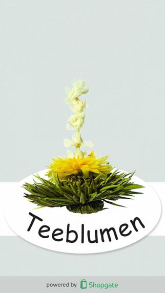 Feelino - Teeblumen Glaswaren Geschenksets