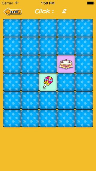 Matching Game - Food