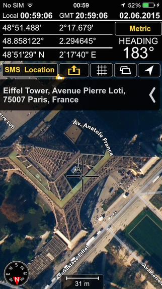 GPS Locations'