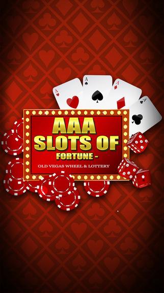AAA Slots of Furtune Casino - Old Vegas Wheel Lottery