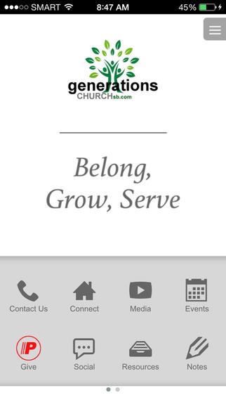 Generations Church - CA