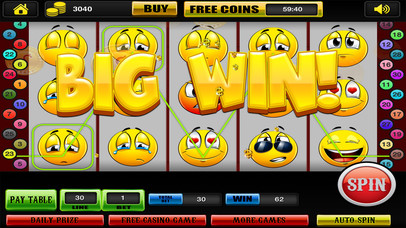 Screenshot 2 Слоты Спин и Win Emoji Монополия Стиль Турниры в Лас-Вегасе казино бесплатно