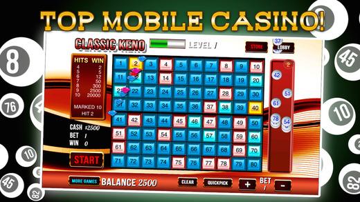 New Lucky Keno Party with Bingo Craze and Amazing Prize wheel
