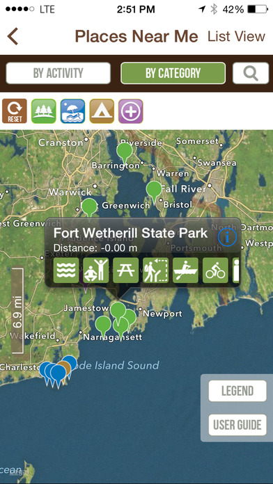 The Official Rhode Island State Parks Great Outdoors - Pocket Ranger™ iPhone Screenshot 4
