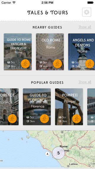 Tales Tours - travel guides routes and offline maps to explore your next holiday destination or week