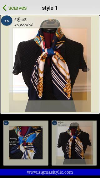 教你系丝巾:scarves