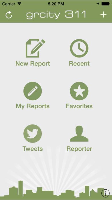 Grand Rapids 311 iPhone Screenshot 1