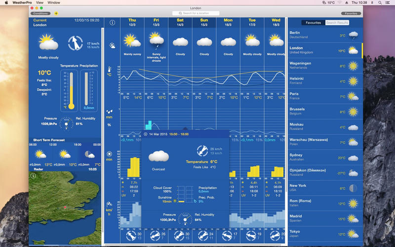 WeatherPro Screenshot - 1