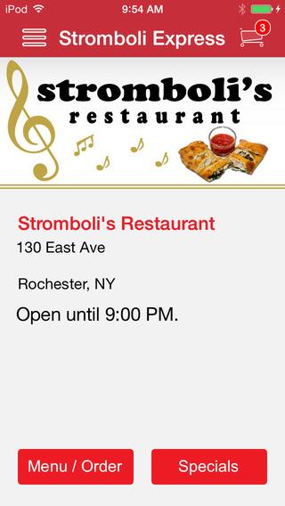 Stromboli's Restaurant
