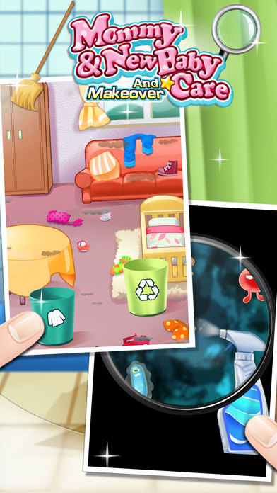 iphone screenshot 2 - Baby Room Cleaning Games