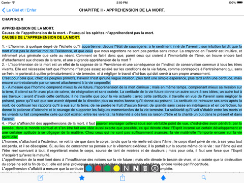 Le Ciel et l'Enfer (Kardec) iPad Screenshot 2