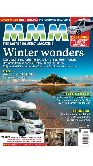 MMM - Motorcaravan Motorhome Monthly magazine