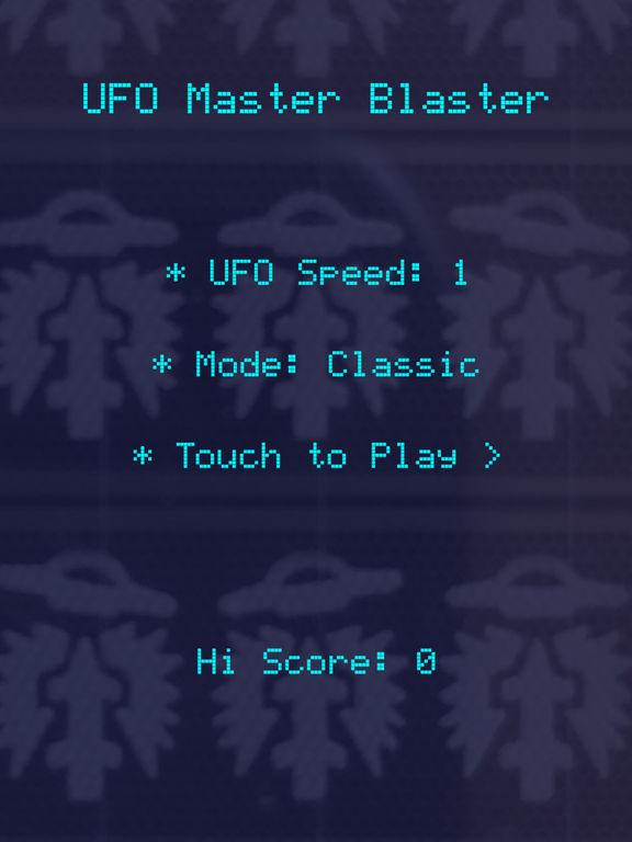 UFO Master Blaster Screenshots