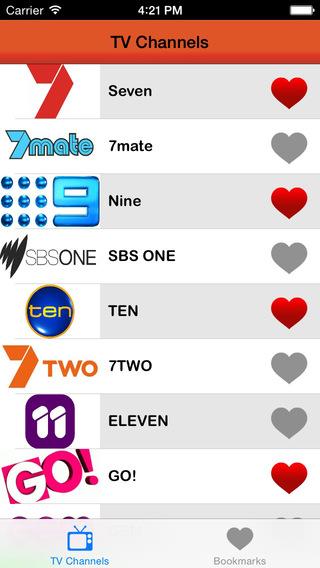 TV Listings Australia : the Australian TV guide AU