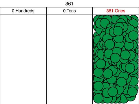 Place Value Chart Screenshots