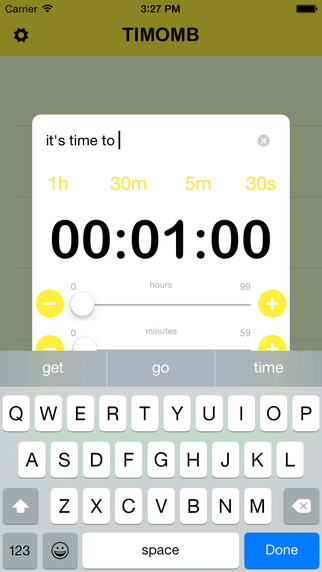 Timomb-A efficent and convenient timer