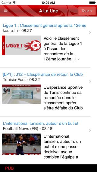 Tunisie Ligue1 Free