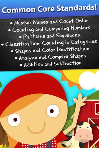 动物幼儿园早期数学游戏的孩子