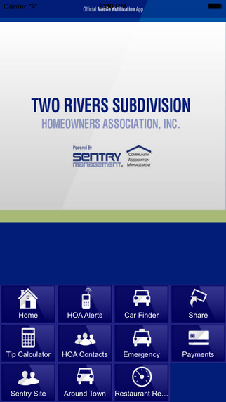 Two Rivers Subdivision Homeowners Association Inc