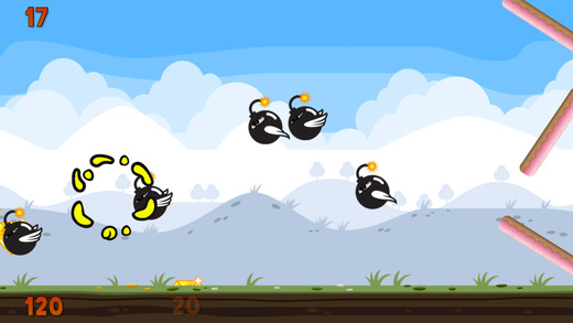 An Angry Flappy Rabbit Vs Angry Flying Bombs - Pro HD