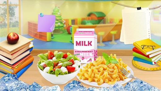 Kids Cooking Fun: School Food Maker - Mac Cheese