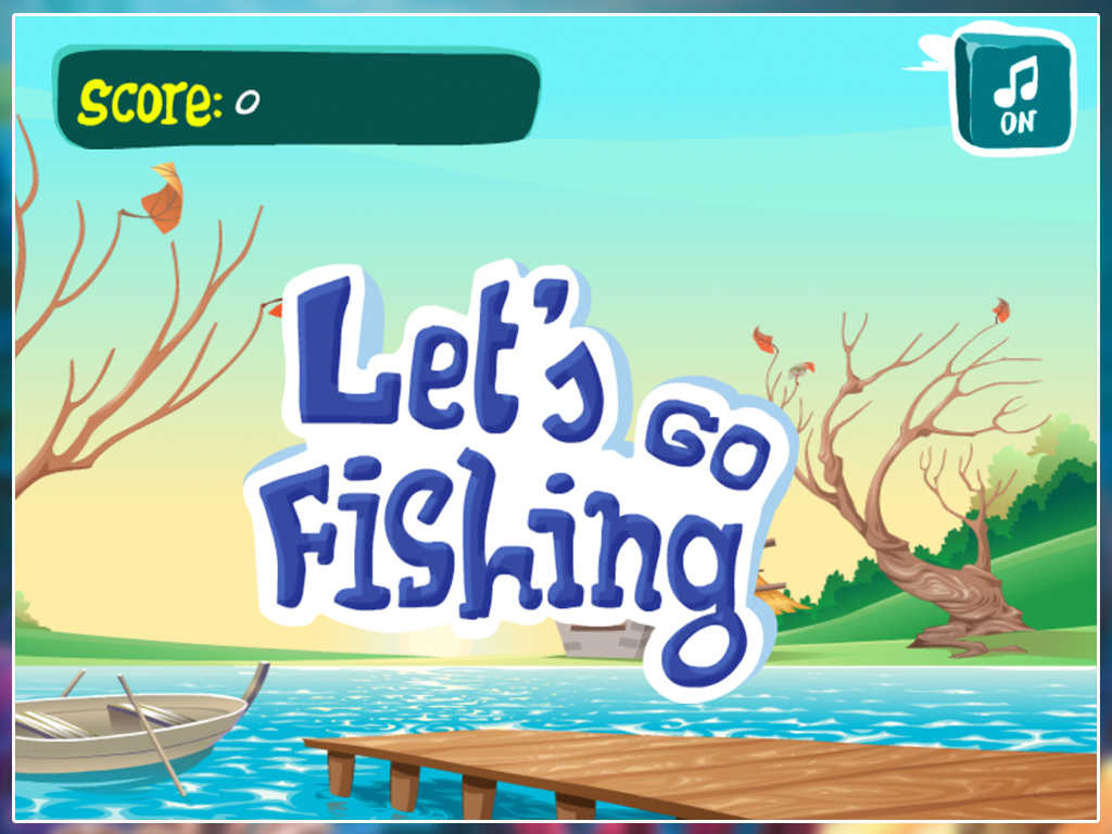 Adult fishing game