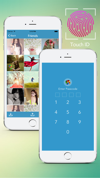 HiMedia Free - lock your photo.s and video.s