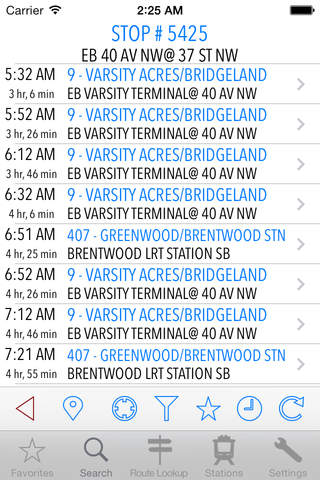 TransitAssist Calgary screenshot 2