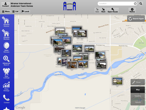 Bakersfield Home Search for iPad