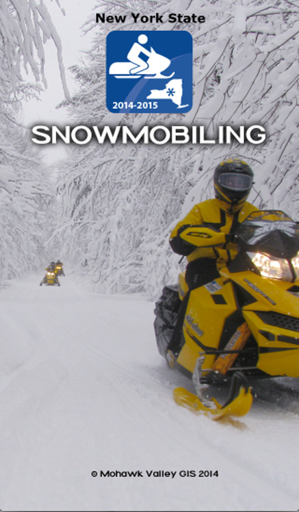 Snowmobiling New York State 2014 - iPhone Mobile Analytics and App