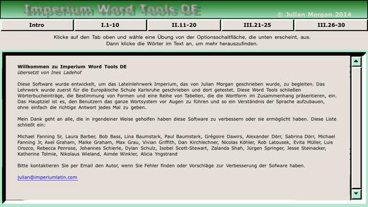 Imperium Word Tools DE Version