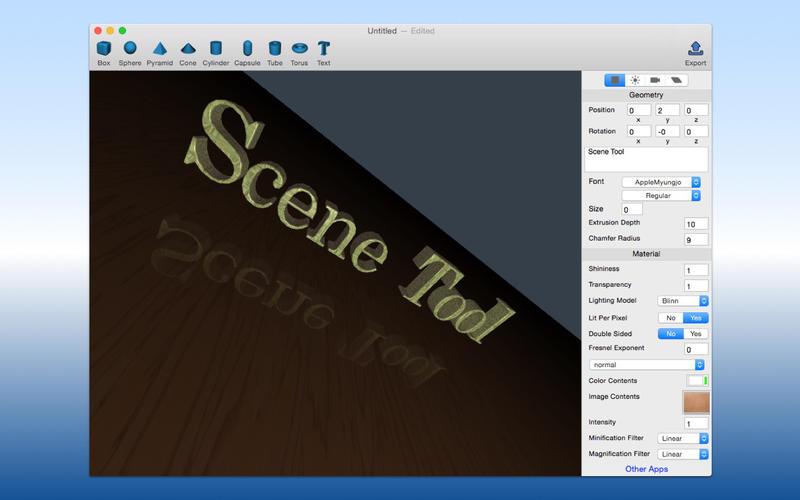 SceneTool Screenshot - 2